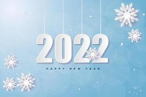 2022 fondo de luz brillante. vector