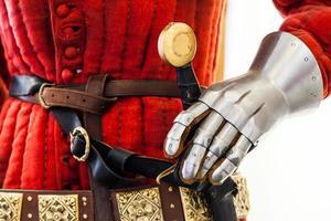 Medieval armour detail photo