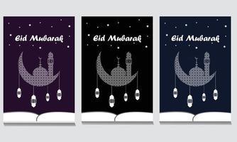 Eid Mubarak design free vector