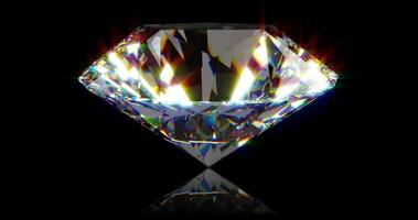 Beautiful Diamonds able to loop seamless video