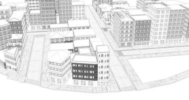 dessin ville boucle ville blanche sans soudure video