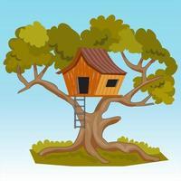 Tree House Illustration vector