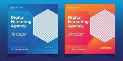 Digital business marketing agency, Digital business marketing vector