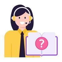 Online Customer Query vector