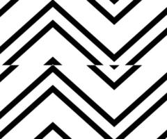 Zigzag line chevron pattern. Simple and modern vintage background. vector