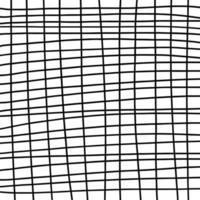 Hand drawn abstract pattern lines, strokes. Vector grunge brushes.