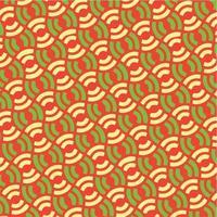 patrón de círculos concéntricos patrón abstracto sin fisuras vector