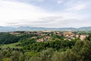 la parte baja de san gemini, italia foto