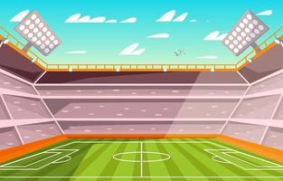 Stadium Football Background vector