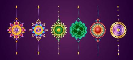 Raksha Bandhan Element Collection vector