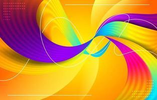 fondo abstracto colorido vector