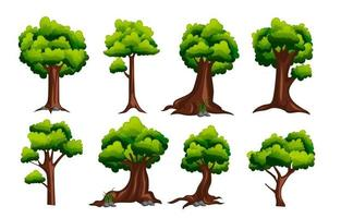 Tree Icon Collection vector