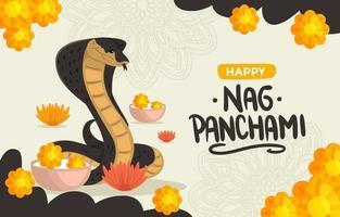 Nag Panchami Background vector