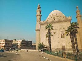 edificio histórico en la ciudad de hugharda, egipto foto