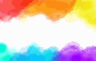 Colorful Watercolor Texture Background vector