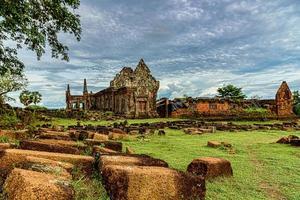 Vat Phou or Wat Phu in Champasak Province, Southern Laos photo