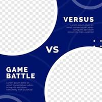 Gaming esport poster social media post template modern minimalis style vector