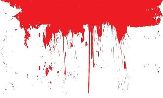 Blood splashes Background with Blood vector