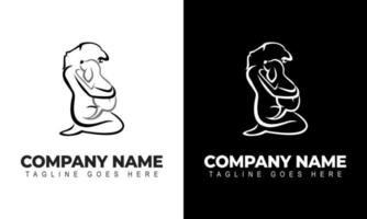 Creative Pet Grooming Logo Design Inspiration With Dogs And People vector