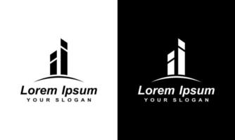 logo concept for accounting or real estate company vector
