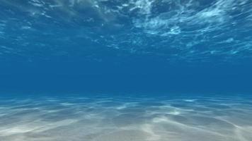 caustiche subacquee raggi di sole fondale 4k video