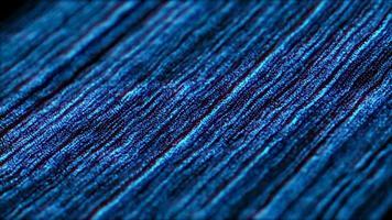 partículas azuis flutuam. introdução capaz de fazer um loop contínuo video