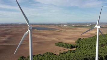 éoliennes dans la province de Navarre video