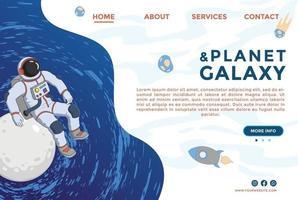 Website design templates. Modern illustration web page design vector