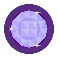Sapphire and Birthstone vector