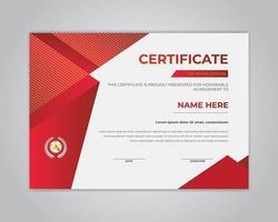Creative Certificate Of Appreciation  Certificate Template  Vector