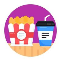 Snacks and Refreshment vector