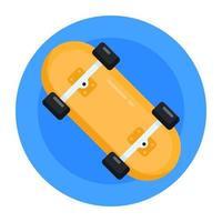 Skateboard and Roller board vector