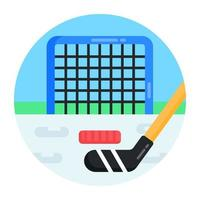 Goal Post and Net vector