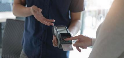 pago con tarjeta de crédito foto