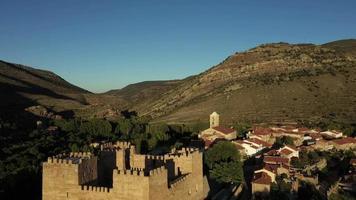 Aerial View of Castilla Y Leon, Spain video