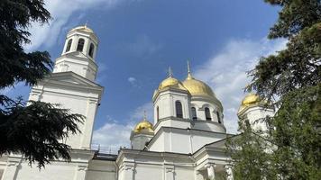 Alexander Nevsky Cathedral in Simferopol, Crimea photo