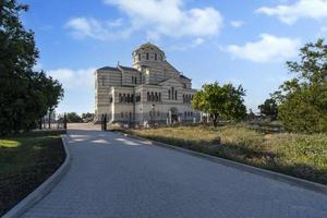 St. Vladimir's Cathedral in Chersonesos, Sevastopol photo