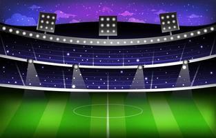 Soccer Stadium Background Template vector
