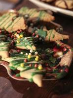 Delicious Christmas cookies photo