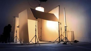Shooting studio for photographer and creative art director with produc photo
