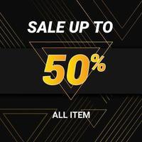 Sale Discount Poster vector