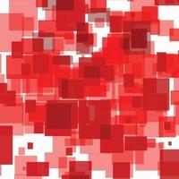 Red abstract background with checkered pattern vector