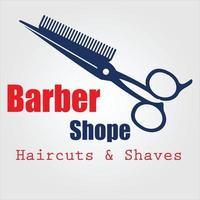 vector de icono de barbería
