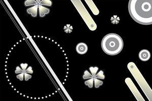 modern polygonal technology background vector