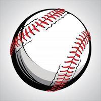 baseball ball illustration vector