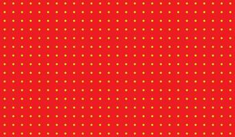 Red retro background with pop art style vector