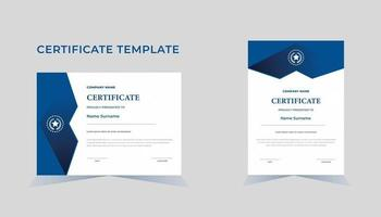 Certificate diploma certificate template. vector