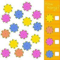 Game for preschool children. vector