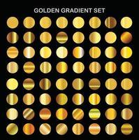 Golden gradient set vector