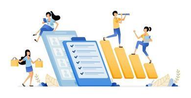 company survey in examining employee satisfaction performance level vector